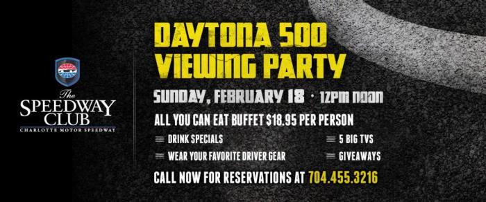 Daytona 500 Viewing Party Buffet