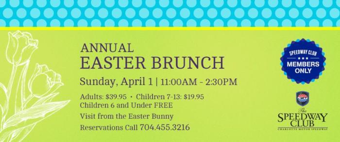 Annual Easter Brunch
