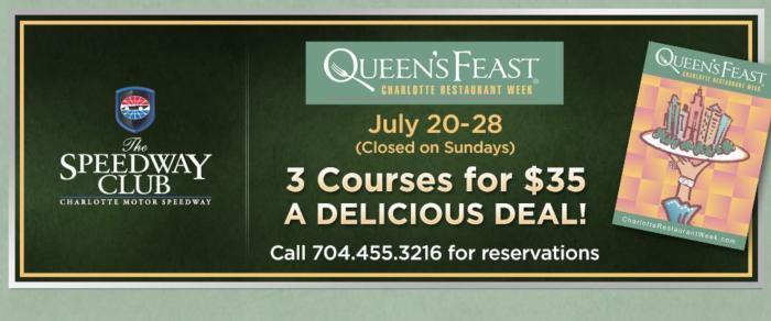 Queen's Feast Charlotte Restaurant Week - Summer 2018