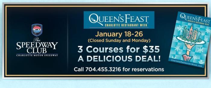 Queen's Feast Charlotte Restaurant Week - Winter 2019