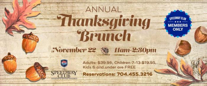 Annual Thanksgiving Brunch